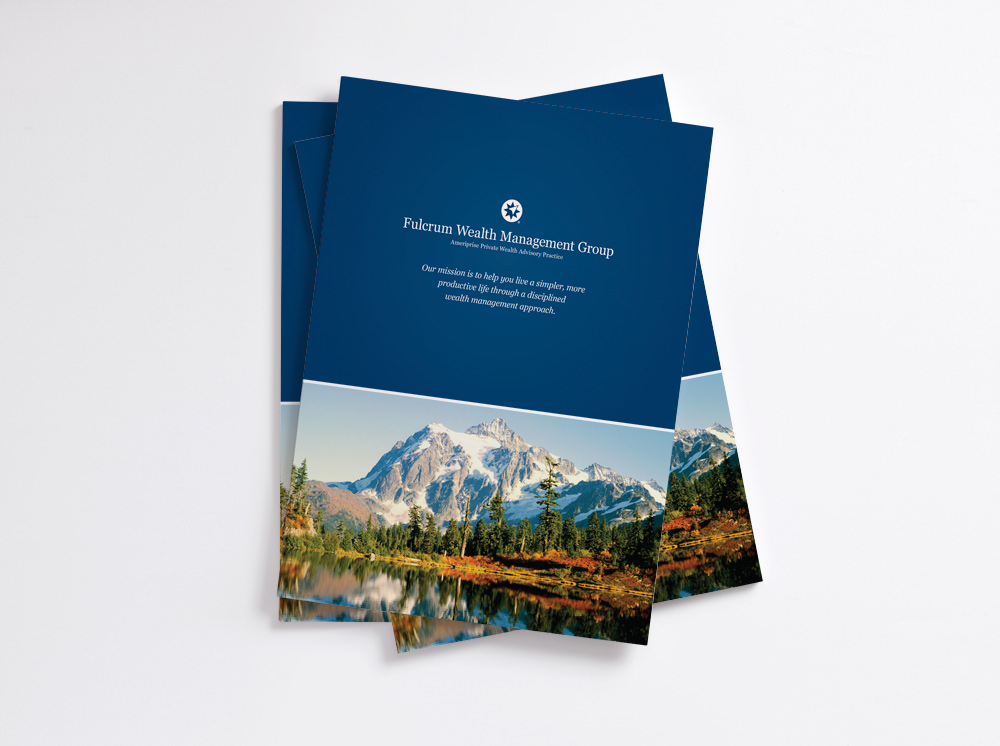 Company brochure for Ameriprise Fulcrum Group in Boise, Idaho