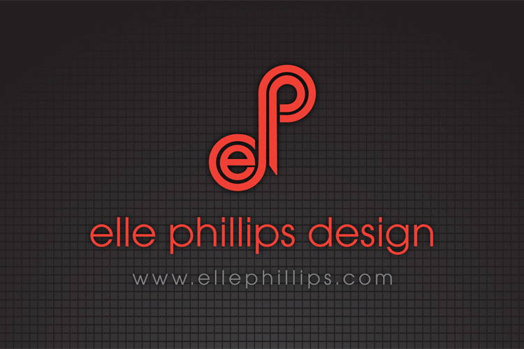 Professional graphic design portfolio by red couch creative for Elle decor logo